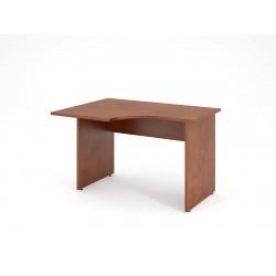 Písací stôl s výrezom 120x90 - ľavý