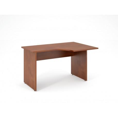 Písací stôl s výrezom 180x80 - ľavý