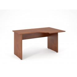 Písací stôl s výrezom 140x90 - pravý