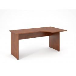 Písací stôl s výrezom 160x90 - pravý