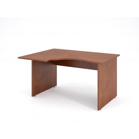 Písací stôl s výrezom 160x90 - ľavý