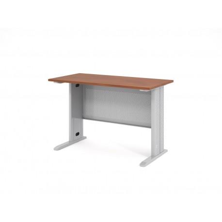 Písací stôl s kovovou podnožou 120x60
