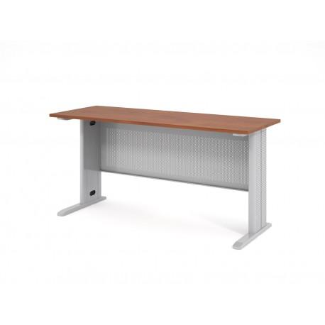 Písací stôl s kovovou podnožou 160x60