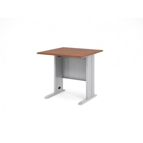 Písací stôl s kovovou podnožou 80x80