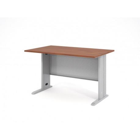 Písací stôl s kovovou podnožou 130x80