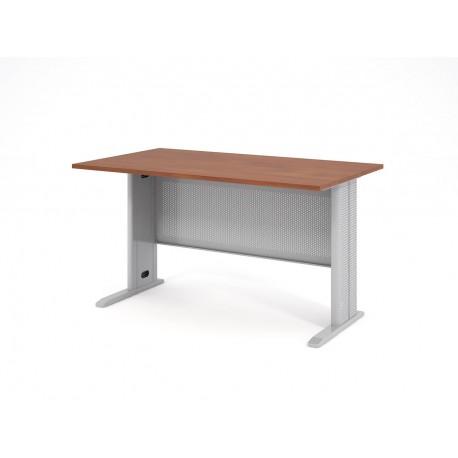 Písací stôl s kovovou podnožou 140x80