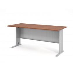 Písací stôl s kovovou podnožou 180x80