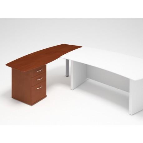 Prídavný stôl so zásuvkami - ľavý