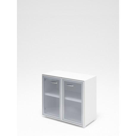 Dvere sklenené široký rám - široké malé