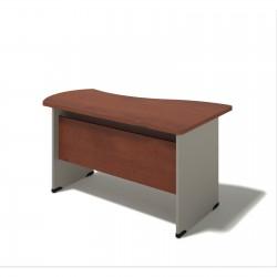 Písací stôl na podnoži z DCP - ľavý 80x140