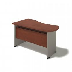 Písací stôl na podnoži z DCP - pravý 80x140