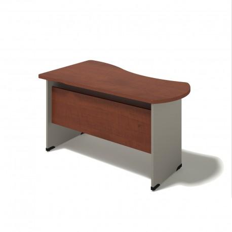 Písací stôl na podnoži z DCP - pravý 100x160
