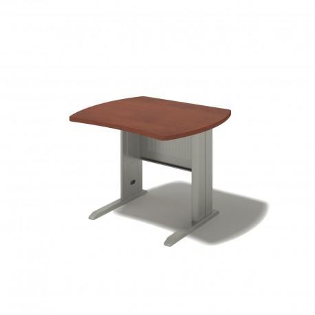 Písací stôl na kovovej podnoži - 160